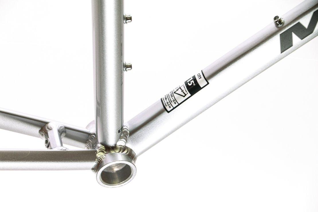 19'' MARIN LARKSPUR 700C Hybrid City Bike Frame Silver Aluminum NOS NEW by Marin (Image #2)