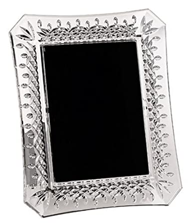 Amazoncom Waterford 107 750 Crystal Lismore 5 X 7 Frame
