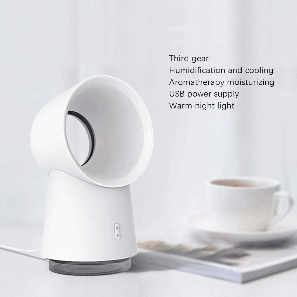 Portable sans Feuille Silencieux Ventilateur USB chargeant Le Petit humidificateur pour Maison Bureau Table A JIJI886 Mini Ventilateur de Poche