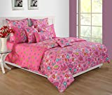 Yuga Décor Printed Pink Little Angels Kids Decorative Twin Size Comforter 60 X 90 Inches