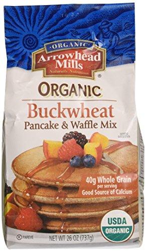 Arrowhead Mills Pancake & Waffle Mix, Buckwheat, 26 - Nut Mills Arrowhead Butters