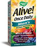 Nature's Way Alive! Once Daily Men's Multivitamin, Ultra Potency, Food-Based Blends (291mg per serving), 60 Tablets Review