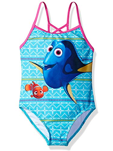 Finding Dory Nemo Girls Swimwear Swimsuit (Little Kid)