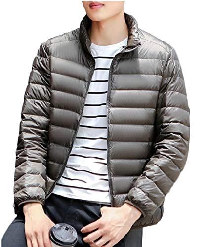 TTYLLMAO Men's Ultra-Lightweight Packable Outwear Down Jacket Coat 1