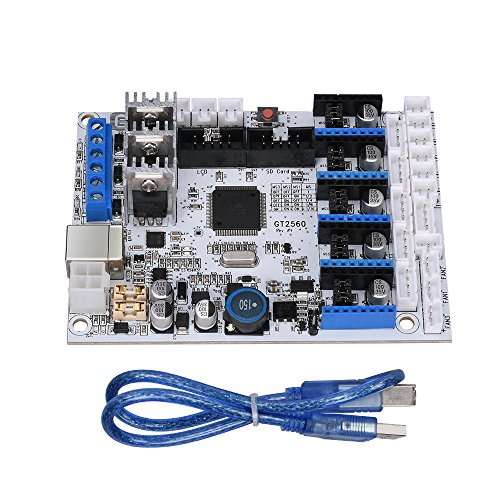 KINGPRINT GT2560 Controller Board with USB Cable for 3D Printer by KINGPRINT