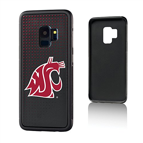 Keyscaper KBMPS9-0WST-DOTS01 Washington State Cougars Galaxy S9 Bump Case WSU Dots ()