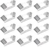 LED Hardwire Emergency Light with Adjustable Heads, Backup Battery (12 Pack)