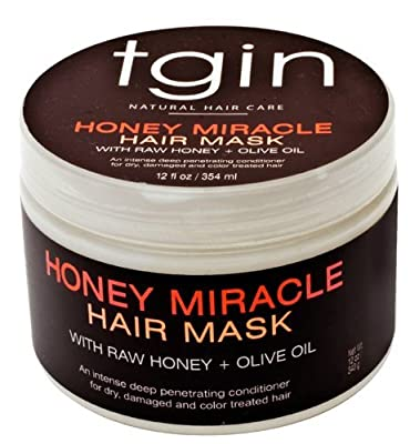 tgin Honey Miracle Hair Mask with Raw Honey & Olive Oil