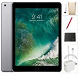 Apple iPad Wifi 2017 model - 9.7 inch - 32GB , Space Grey + USA Warehouses Accessories Bundle MP2F2LL/A