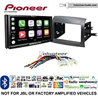 Volunteer Audio Pioneer AVH-W4400NEX Double Din Radio Install Kit with Wireless Apple CarPlay, Android Auto, Bluetooth Fits 2004-2010 Non Amplified Toyota Sienna