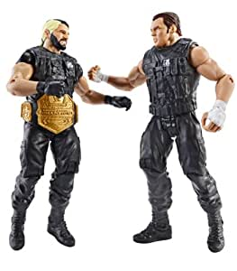 WWE Battle Pack Seth Rollins vs. Dean Ambrose Action Figure, 2 unidades