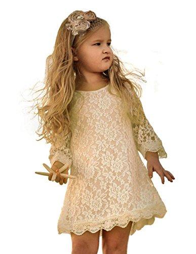 Flower Girl Dress Lace Sleeve product image