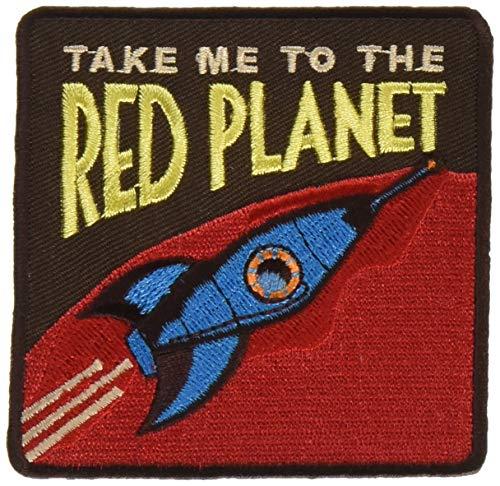 C&D Visionary P-DSX-4817 DSX Red Planet Patch, Multi Color