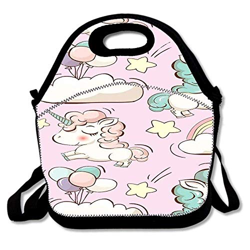 c41d00f0 CHJOO Designer Insulated Lunch Bag Tote Reusable Waterproof School Picnic  Carrying Gourmet Lunchbox Container Organizer -