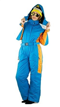 Schneeoverall Schneeanzug Overall Kinder skianzug winddicht blau Gr 122