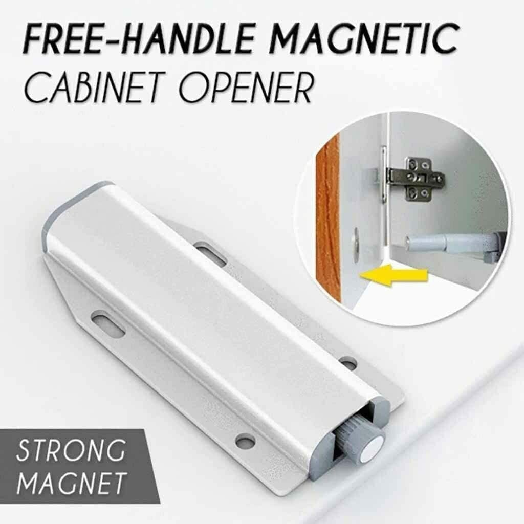 95sCloud Druckt/ür/öffner Magnetschn/äpper,Druckschnapper Magnet T/ürschlie/ßer Push to Open Magnetverschluss Schrankt/üren Druck/öffner Schublade M/öbelmagnete T/ürd/ämpfer,T/ürschnapper Schnapper