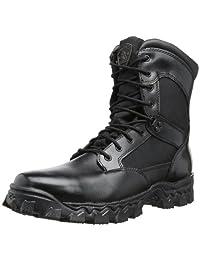 Rocky Men's Alpha Force 8 Inch Side Zip Work Boot