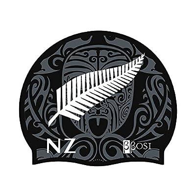 Bonnet de Natation Nouvelle Zélande Bonnet de Bain en Silicone Bonnet Piscine pour Adulte Homme et Femme Bbosi