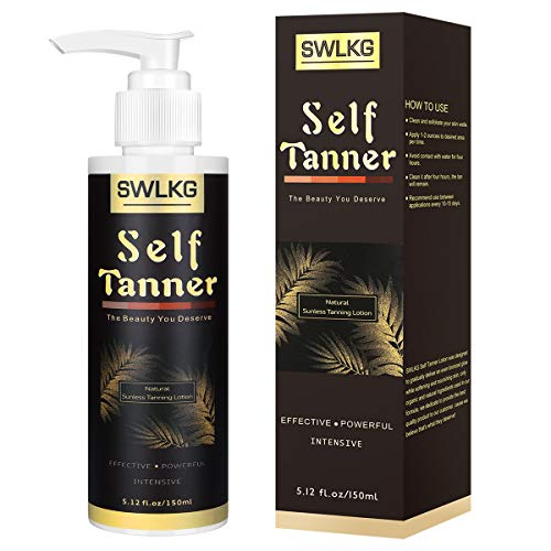 Self Tanner Sunless Tanning Lotion with Organic & Natural Ingredients for Flawless Darker Bronzer Skin