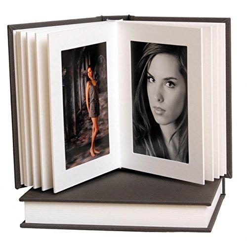 Artisan Grey/White Slip-in Album 5x7 15 Pages/30 Photos