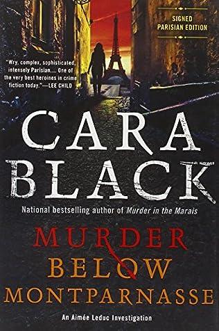 book cover of Murder Below Montparnasse