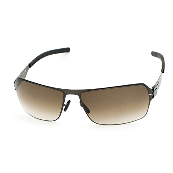 Sonnenbrilen IC BERLIN ALEX GUN METAL Lens: brown sand P2N3tQ9