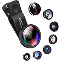 Phone Lens - Cell Phone Camera Lens Kit Universal 8 in 1...