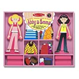 Melissa & Doug Abby & Emma Deluxe Magnetic Dress-Up Set by Melissa & Doug