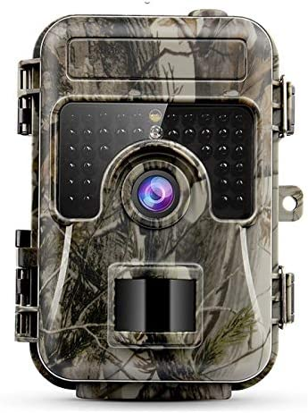 2019 Advanced Trail Camera by Trail Shot 16MP 1080p high Definition Hunting Camera for Deer, IP66 Waterproof Game Camera Night Vision Motion Sensor Camera Wide Angle View 2.4 LCD Color Display