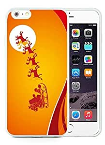 2014 Newest iPhone 6 Plus Case,Merry Christmas White iPhone 6 Plus 5.5 TPU Case 60