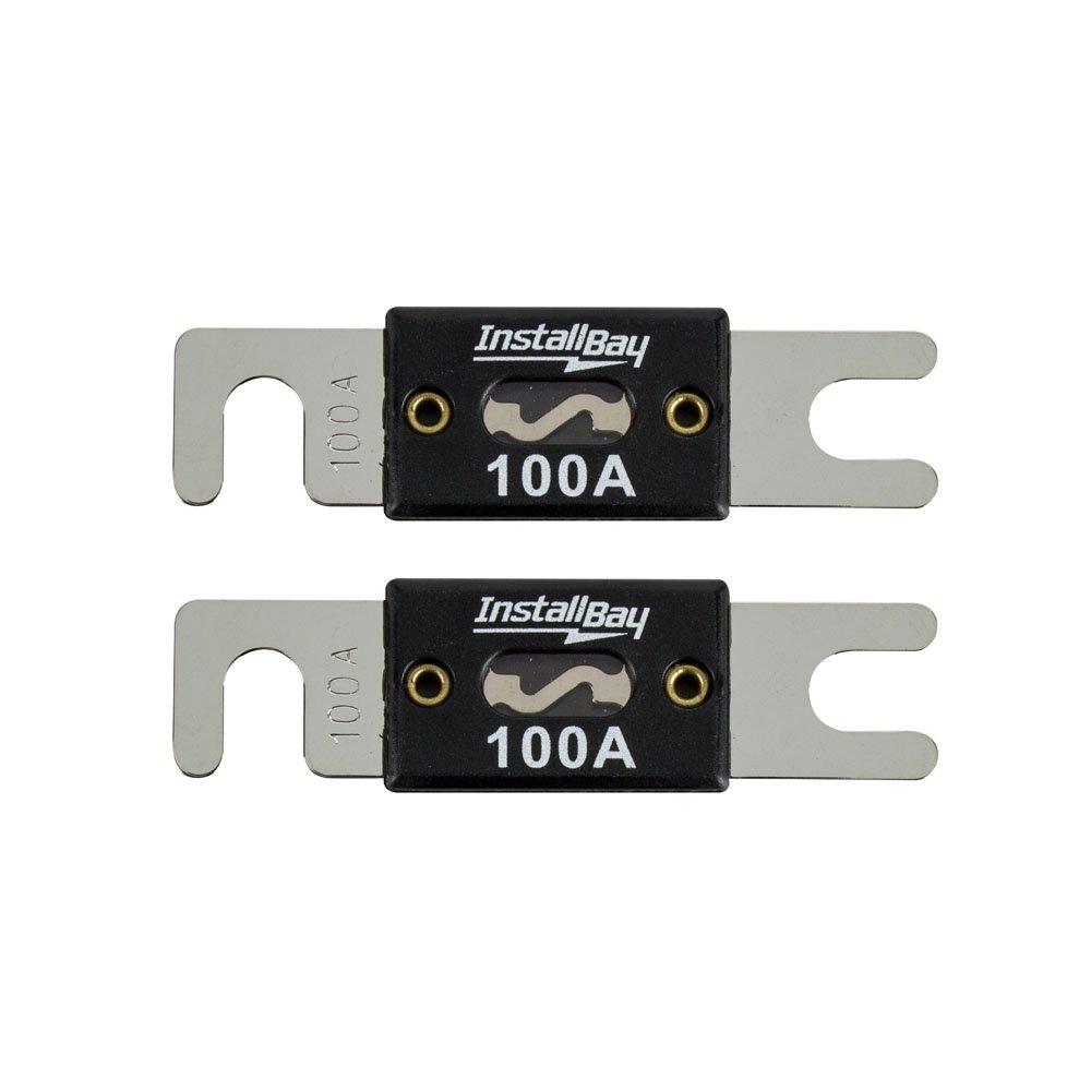 Install Bay ANL100-10 - 100 Amp ANL Fuses (10 Pack),Black