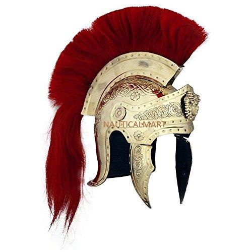 (NAUTICALMART Praetorian Guard Roman Helmet)