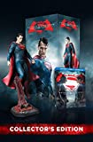 DVD : Batman v Superman: DOJ (Amazon-Exclusive) (Superman Figurine) (Ultimate Edition Blu-ray + Theatrical Blu-ray + DVD + UltraViolet Combo Pack)
