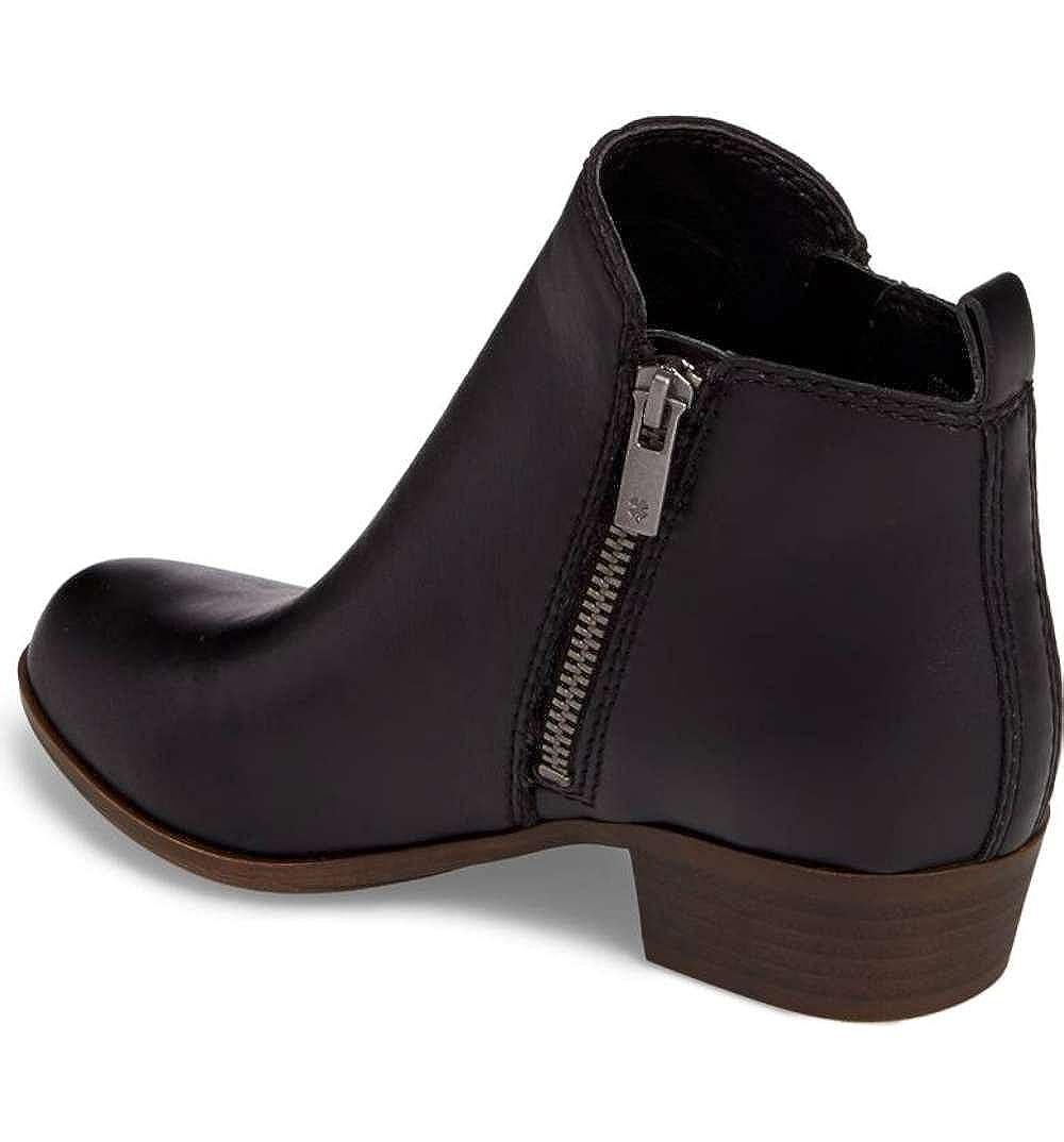 Lucky Brand Girls Yg Basel Ankle Zipper Chelsea Boots