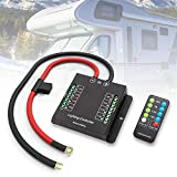 LITEWAY Wiring Control Box - Electronic 8 Relay System Module - Wiring Harness Kit With FREE Wireless Remote Control - Power up to 8 Accessories and LED Off Road Light Bars