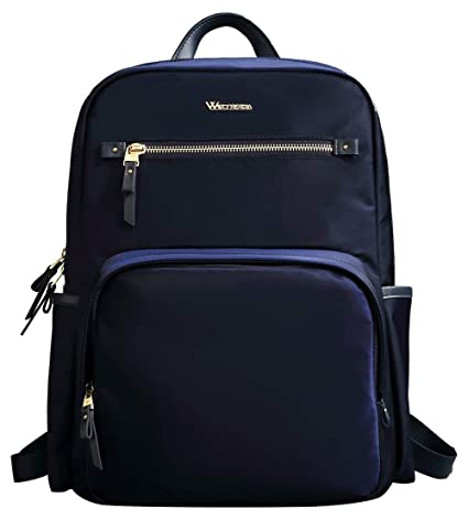 96917ffb736e Wolfrealm Business Backpack Laptop Backpack Purse for Women Fashion Ladies  School Bag fit 14.1 inches Lightweight Waterproof,Blue