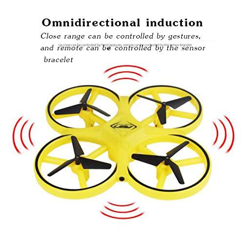 comprar marca amarillo amarillo amarillo Aviones de detección de OVNI, detección de gestos, aviones de observación, detección de gravedad, suspensión inteligente para evitar obstáculos, aviones no tripulados, juguetes para niños,  productos creativos