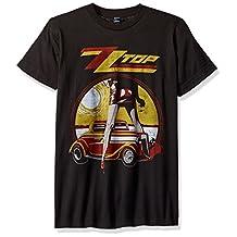 Impact mens Zz Top Vintaged Legs Rock T-shirt