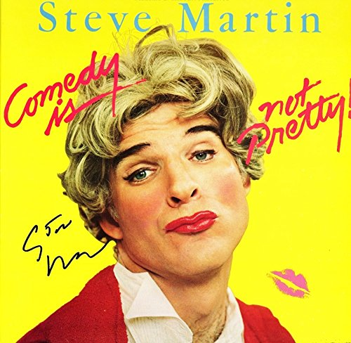 Steve Martin Signed - Autographed Comedy is not Pretty LP Record Album ()