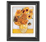 Vincent Van Gogh Sunflowers Floral Wall Picture Framed Art Print