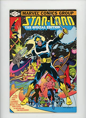 - STAR-LORD: SPECIAL EDITION #1 | Marvel | February 1982 | Vol 1 | 7-page Dr. Who back up
