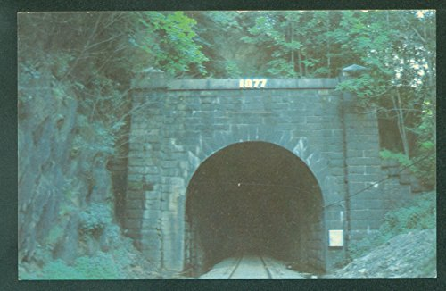 Hoosac Tunnel Great Bore Massachusetts MA Mohawk Trail Train Railroad Postcard