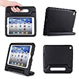 iPad Air 2 Case,iPad Air 2 for kids Case,SNOW-Light Weight Shock Proof Convertible Handle Stand Kids Friendly Protection for Apple iPad air2(6th Generation)(iPad Air2, black)