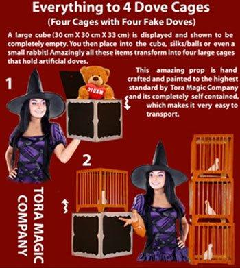 Alles bis 4 Dove Cages - Tora