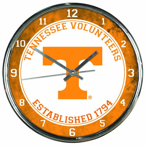 Glass Ncaa Clock - 3
