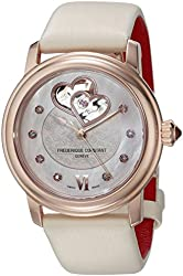 Frederique Constant Women's FC310WHF2P4 Analog Display Swiss Automatic White Watch