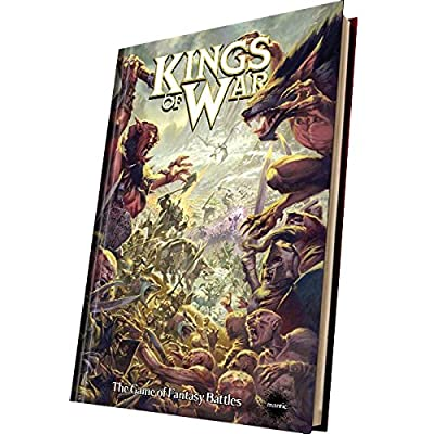 Kings Of War 2nd Edition Rulebook (hard Cover) - Mantic Games from Kings Of War