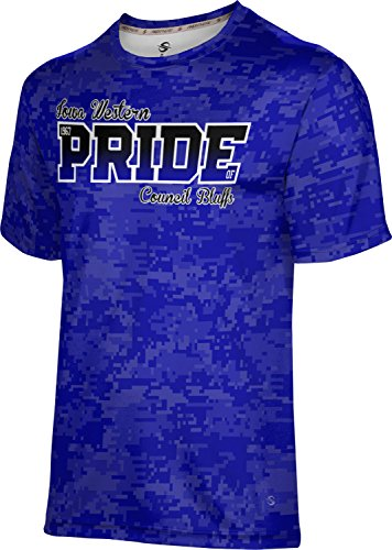Price comparison product image ProSphere Men's Iowa Western College Digital Tech Tee (XXXX-Large)