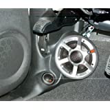 Q-Logic Custom Kick Panel Component Speaker Mount Pod for Cadillac ESCALADE & ESCALADE EXT, Chevy AVALANCHE SILVERADO & SUBURBAN, GMC DENALI SIERRA YUKON & YUKON XL 2007-2009 (Cashmere - Light Tan C5)