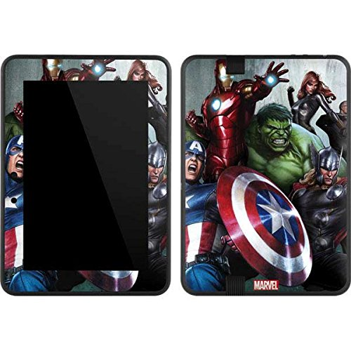 Marvel Avengers Kindle Fire HD 7 Skin - Avengers Assemble Vinyl Decal Skin For Your Kindle Fire HD 7